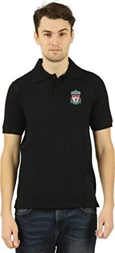 Desconocido Camiseta Oficial del Liverpool Football Club para Hombres y Mujeres Negro Negro (M