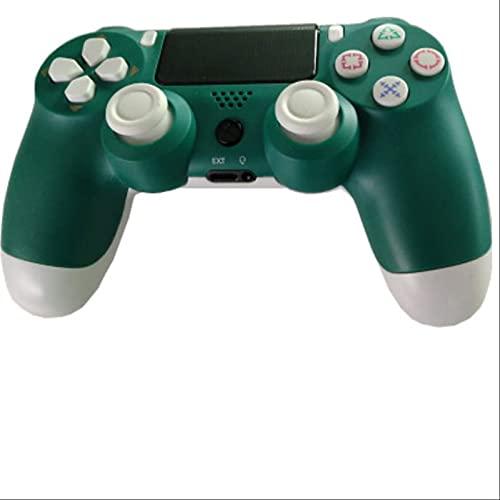 Leisont - Controlador de Joystick Bluetooth inalámbrico Tablero de Juego Dual Shock 4 Consola de Juegos para el Controlador de vibración PS3 PC como una Imagen