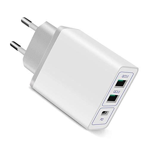 [PD+2QC]USB C Cargador de...