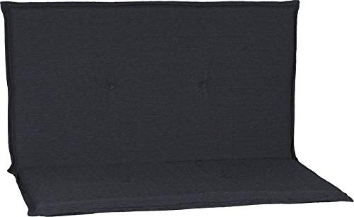 Beo Niederlehner acamp Bankkissen in dunkelgrau Typ-O 85 x 44 x 4 cm passend für Stapelbank Stratos