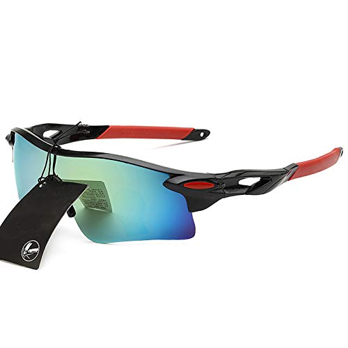 LKHF Gafas polarizadas Hombres Mujeres Gafas de Pesca Gafas de protección Solar Camping Senderismo Gafas de conducción Gafas de Sol Deportivas