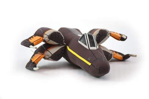 Desconocido Star Wars Episode VII Vehículo Peluche Millennium Poe's X-Wing Fighter 20 cm