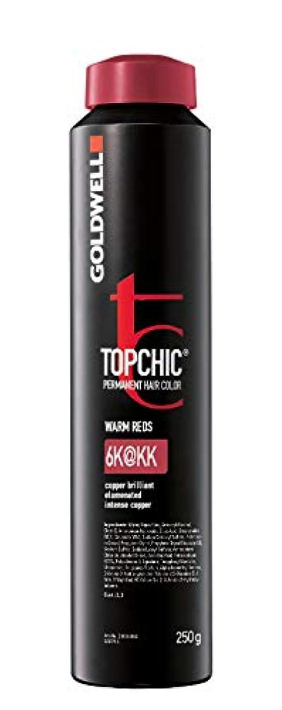 お酒羊フルーティーGoldwell Topchic髪の色、 6katkk激しい銅
