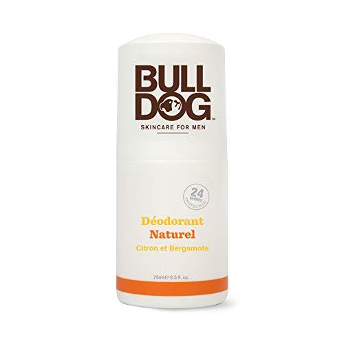 Bulldog Deodorante Naturale Limone e Bergamotto 75 ML- Deodorante profumato per uomo con ingredienti naturali