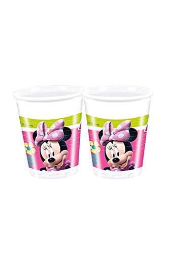 Bicchieri Minnie felice - 8 pezzi