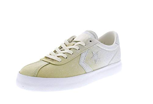 Converse Unisex-Kinder Lifestyle Breakpoint Ox Synthetic Fitnessschuhe, Gold (Light Gold/Pure Silver/White 710), 38 EU