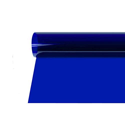 Selens 40x50cm Gel de Color Filtro Luz Geles de Corrección Láminas Plástica de Película de Color Transparente para Foco de 800W Cabezal Rojo Fotografía Estudio Fotográfico Azul