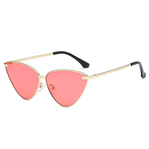 AMFG Gafas de sol de ojo de gato retro fotografía de fotografía de playa de playa Gafas de sol de sombrilla (Color : A)