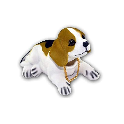 Kücheks Muñeco de Perro cabeceando en el Coche, Decoraciones Interiores de Coche, Adornos para Perros Bonitos, Regalos creativos