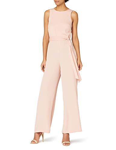 Amazon-Marke: TRUTH & FABLE Damen Jumpsuit, Rosa (Pink Soft Pink), M
