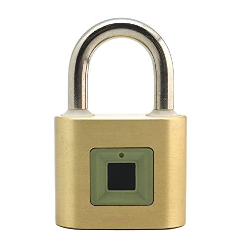 Unity Brass Fingerprint Padlock 2''(50mm), USB...