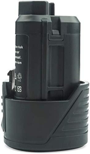 GOOALITY 12V 3.0Ah Batería compatible con AEG L1215 L1215P L1215R R86048 BLL12C BS12C2 BSS12C BWS12 BWS12CBWS