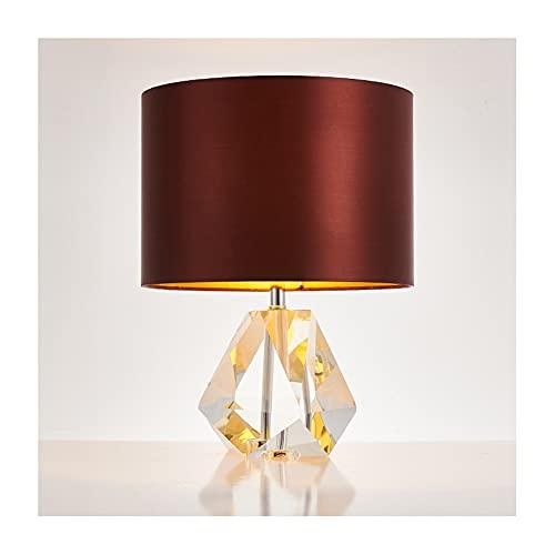 Lámpara de Mesa Lámpara de mesa de cristal moderno creativo diamante cristal...