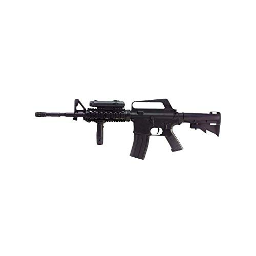 Well - Replica Airsoft Spring - M16A4 M4 RIS 0,5 Joule mit Zubehör