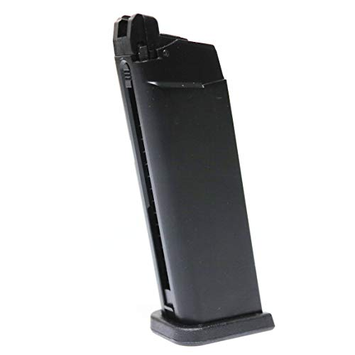 Airsoft WE 20rd Gas Magazine for WE G19 MOS Series GBB Black