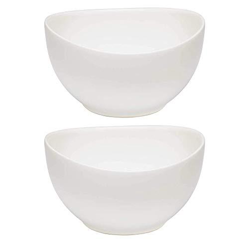 Villeroy & Boch Like Voice Basic Bowl - Vajilla de cocina (750 ml, 2 unidades), color blanco