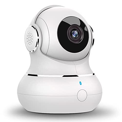 Überwachungskamera WLAN Kamera, 1080P Babyphone Kamera mit app, 360 Grad Hundekamera Bewegungserkennung, WLAN IP Kamera mit Nachtsicht für Haustier, kompatibel mit Alexa