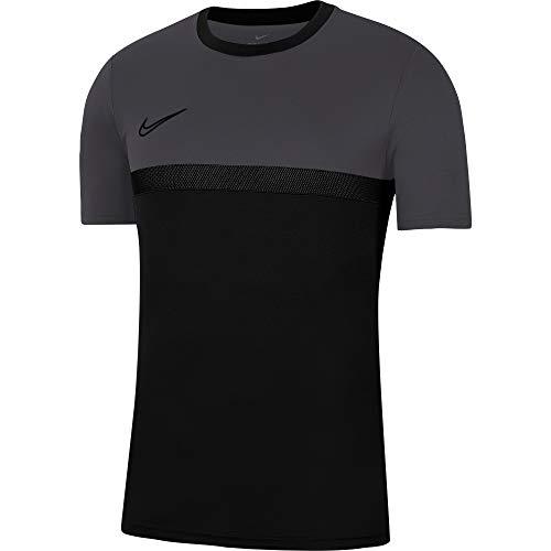 Nike Dri-Fit Academy PRO T-Shirt, Nero/Antracite/Nero/Nero, s Unisex-Bambini