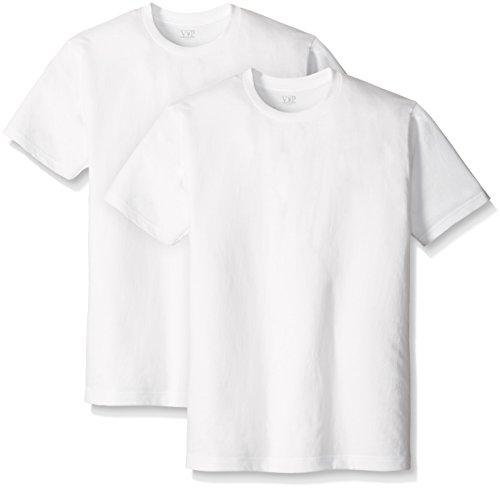 半袖Tシャツ 丸首 白 Mサイズ 2枚組