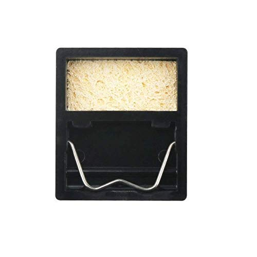 ZHQHYQHHX Elektrische soldeerbout standhouder Metal Ondersteuning Station met soldeer Spons soldeerbout Frame Midden- en Y-Type (Color : A, Size : Free)