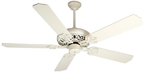 "Craftmade CC52AWD Cecilia 52"" Ceiling Fan in Antique White, Motor Only"