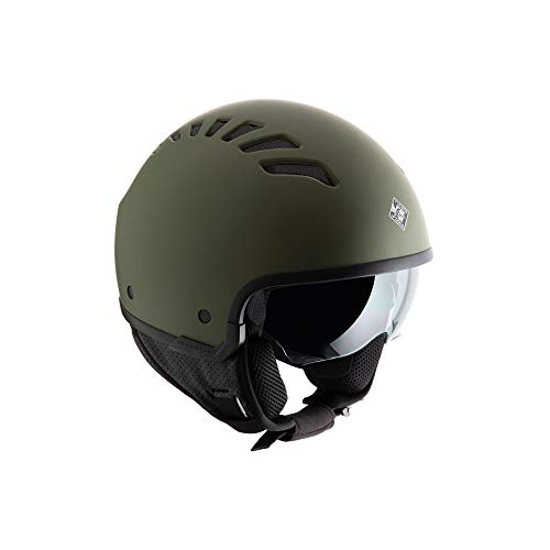 casco moto verde Tucano Urbano CASCO EL FRESH Verde Airborne Opaco XL