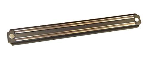 Jocca Barra portacuchillos magnética, Aluminio, Plateado, 4 cm