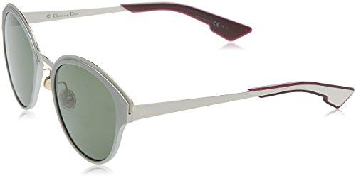 Dior Damen Diorsun 85 Rcn 52 Sonnenbrille, Silber (SLV White/Grey Green)