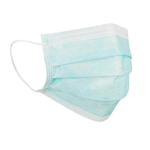 Froomer Pack de 10 máscaras – Bolsa sellada de fábrica, máscara de protección respiratoria, Color Blanco, Azul o Verde