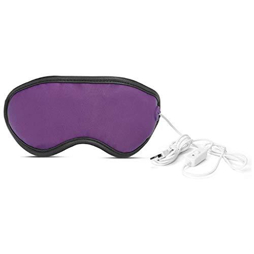 Eye Massager USB verwarming stoombril ver infrarood gezondheidszorg oogwarmer 3 versnellingen thermostaat Automatische timing voor verlichting van oogvermoeidheid Droge ogen,Purple