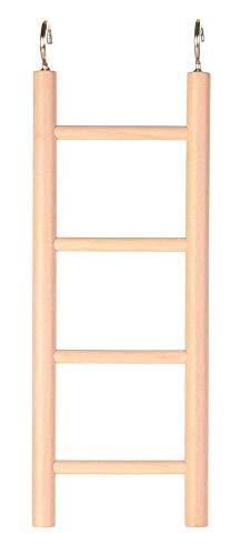 Trixie 5818 Papageien-Holzleiter, 5 Sprossen/45 cm