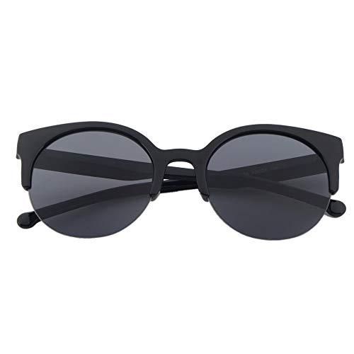 LeftSuper Gafas de Sol polarizadas Redondas Retro clásicas para Hombre al Aire Libre Gafas de Sol para Mujer