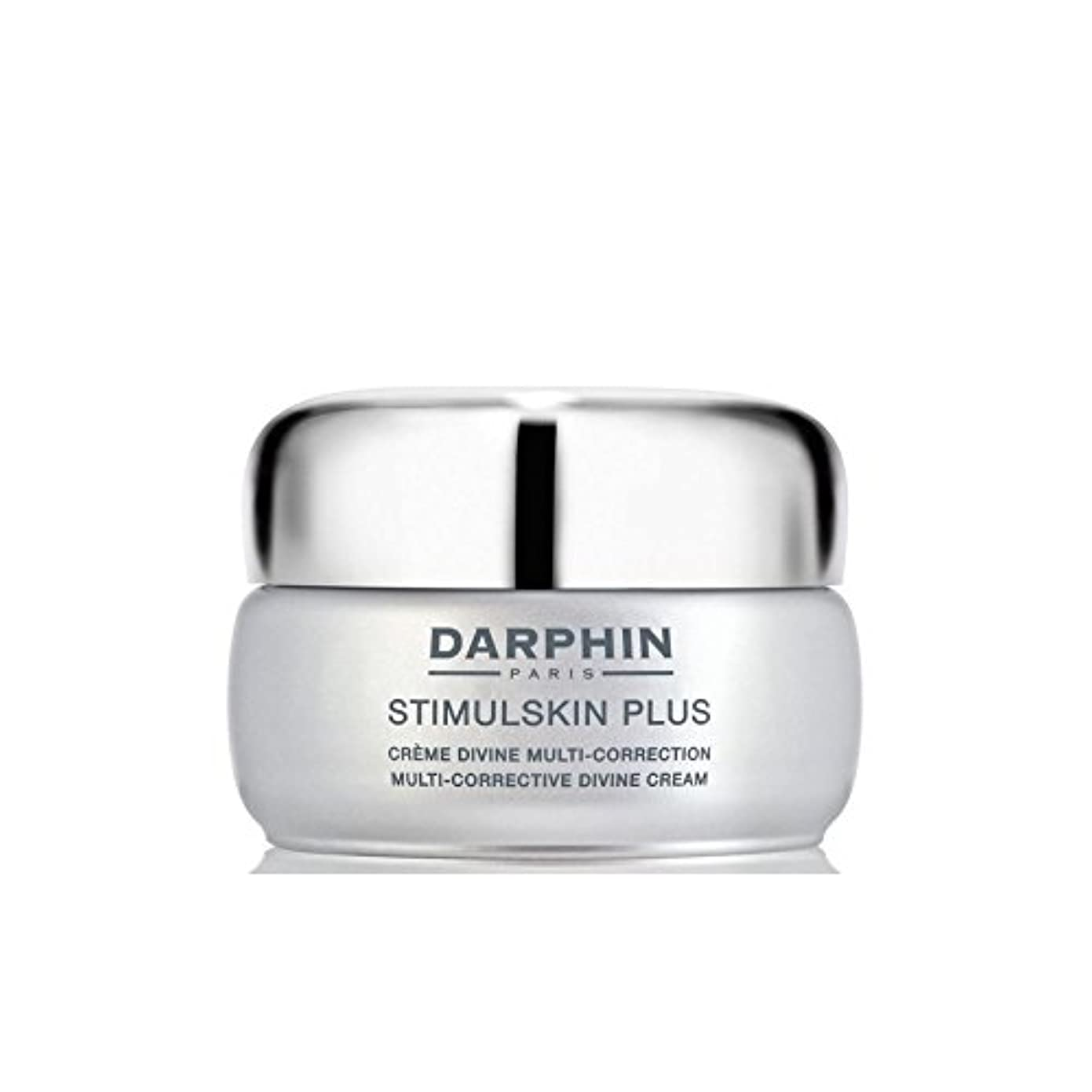 繰り返しエスカレートご予約ダルファンスティプラスマルチ是正神クリーム - 豊富 x4 - Darphin Stimulskin Plus Multi-Corrective Divine Cream - Rich (Pack of 4) [並行輸入品]
