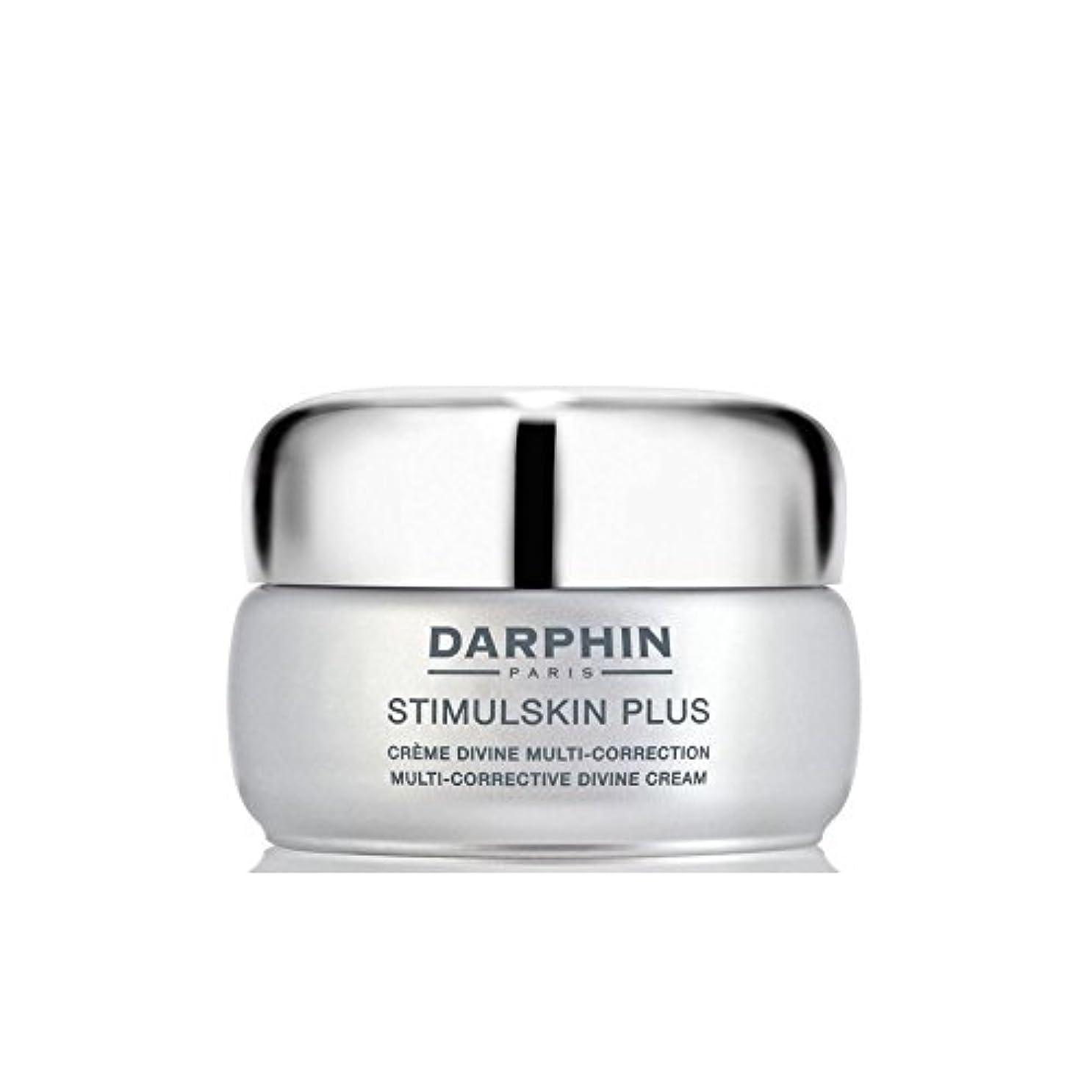 ラメ縮約失望させるダルファンスティプラスマルチ是正神クリーム - 豊富 x4 - Darphin Stimulskin Plus Multi-Corrective Divine Cream - Rich (Pack of 4) [並行輸入品]