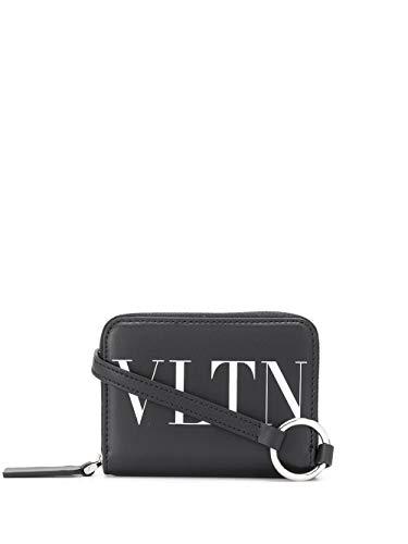 Luxury Fashion   Valentino Heren TY0P0R48LVN0NO Zwart Leer Portemonnees   Lente-zomer 20
