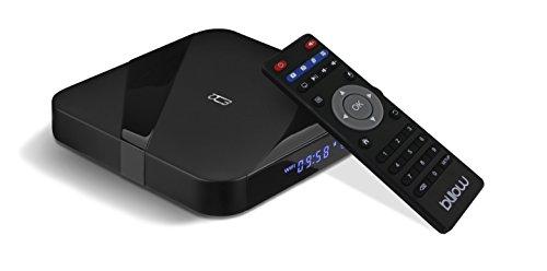 Billow Technology MD09TV - Android TV Box 4K Octa Core 1.5 Ghz, memoria DDR da 2 GB, colore: Nero