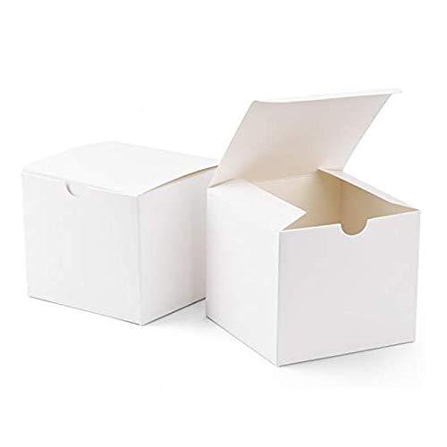 Plegable Cartón Manualidades Cajas de Regalo Cuadrado Cajas De Regalo De Cartón...