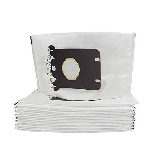 Recambios de repuesto para limpieza del hogar, bolsas de polvo aptas para Philips Fit para Electrolux FC8202 FC9083 HR8350 Aspiradora no tejida Accesorios (Color: 10 piezas) Accesorios de vacío