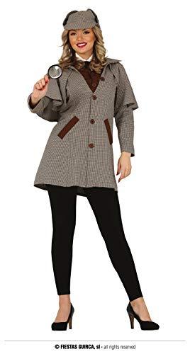 Fiestas Guirca, S.L. Disfraz de Sherlock Holmes para Mujer
