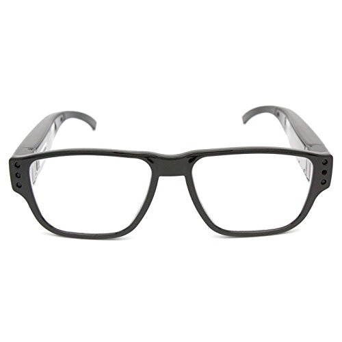 Lawmate Covert Hidden Camera Clear Spy Cam Glasses PV-EG20CL