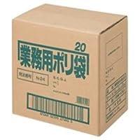 日本サニパック ポリゴミ袋 N-24 半透明 20L 10枚 60組 生活用品 インテリア 雑貨 日用雑貨 掃除用品 top1-ds-1294827-ah [簡素パッケージ品]