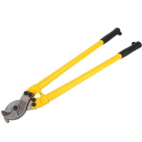 Alicates de corte, cortador de cables, cable de acero al carbono de 24 pulgadas, mantenimiento en el hogar para cables(Cable cutter)