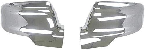 HSG Ersatz-Flügel Mirroe Abdeckung ABS Chrom-Seitenansicht Silber-Abdeckungs-Ordnung for Dodge Ram 1500 2019 2020 Spiegelabdeckungen 704 (Color : Silver)
