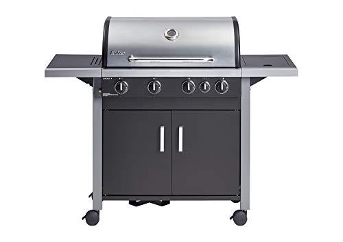 Enders® Gasgrill CHICAGO 4 K, mit Kocher, 4-Brenner und Deckel aus Edelstahl, mit Thermometer, große Grillfläche, Grillküche #81296