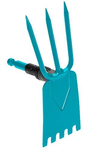 Gardena 3219–20Gartenhacke azadas (blau, 1Stück (S), 9cm