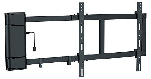 RICOO SE2544, Motorisierte TV Fernseher-Wand-Halterung Elektrisch Schwenkbar, Universal 30-65 Zoll (76-165 cm) bis 40-kg & VESA 400x400, LCD OLED Flach-Bildschirm