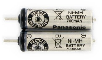 Panasonic Akkuzelle Packung WES7038L2506 * Dies ist ein Original-Panasonic-ERSATZTEIL *
