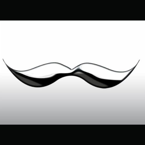 Chrome Mustache