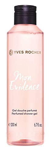Yves Rocher COMME UNE EVIDENCE Duschgel MON EVIDENCE, fruchtige Pflegedusche passend zum Duft, 1 x Flacon 200 ml