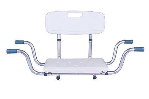 Antar AT51032 - Sedile per vasca da bagno con schienale, 1900 g
